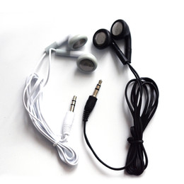 Wholesale Cheapest Mobiles - cheapest Earphones earbuds Headset Headphone for mobile phone cellphone mp3 mp4