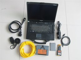Wholesale used diagnostic tools - Ready to use for bmw icom a2 with laptop +software 2018.01+ cf52 computer 3in1 programming & diagnostic Tool