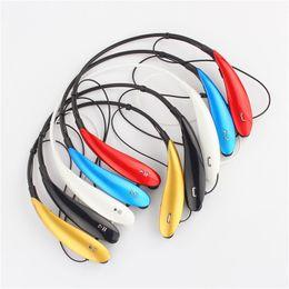 Bluetooth mp3 mas barato online-Más nuevo HBS800 HBS 800 HBS 901 HBS 902 HBS902 Bluetooth inalámbrico Auriculares deportivos Auriculares para Samsung S5 S6 iPhone 6