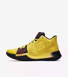 Wholesale Watermelon Button - 2018 Kyrie 3 bruce lee Mamba Mentality for sale Top Quality Kyrie Irving Basketball shoes Christmas gift free shipping US7-US12