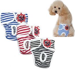 Wholesale pet dog physiological pants - Pet Parents Premium Dog Diapers Cotton Durable Washable Menstruation Physiological Pants Reusable Female Male Dog Diapers