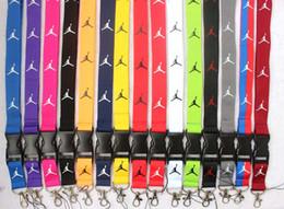 hals lanyard clips Rabatt Schlüsselband Schlüsselbund Hals Handy Gurt für ID-Karte Abzeichen Inhaber Metallclip (Farbe auswählen)