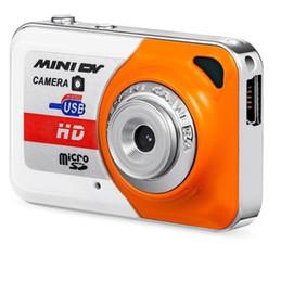 2019 telecamere a zoom lungo Videocamera Mini HD Ultra portatile 1280 * 1024 Videocamera Super Mini Videoregistratore X6 Mini videocamera digitale DV