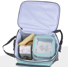 7e247d11c9 free shipping thermal leak-proof ice pack insulation beer cooler bag breast  milk storage women men insulated picnic lunch bag