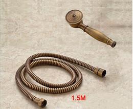2019 antikes messingtelefon 2016 Messing Klassische Telefon antik Held Held Duschkopf + 1,5 Mt dusche rohr hand günstig antikes messingtelefon