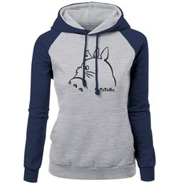 746d2b7bd64 Discount totoro sweatshirts - TOTORO Kawaii Fashion Print Sweatshirt For  Women 2017 Autumn Winter Slim Brand