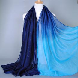 Bufanda de pashmina online-Lady Fashion Voile Algodón Niñas Bufandas Ponchos Cabo Mujeres Seda Bufanda Populares Mantón Del Abrigo de Lujo Marca LIC Mujer Pashmina