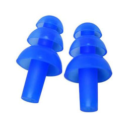 6 пар / лот плавание Гриб уха вилка Силиконовый водонепроницаемый протектор беруши от