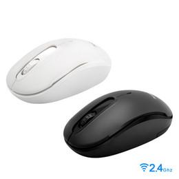 2019 ratón lindo para la computadora 2.4G ratón inalámbrico ratones ópticos móvil portátil con receptor USB 1600DPI para Andriod caja de la TV portátil PC portátil