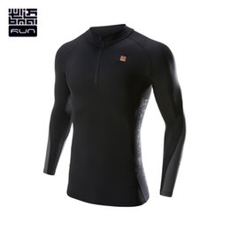 Wholesale Sport Winter Clothes For Women - Wholesale-BMAI Autumn Winter Running Compression Shirt For Men&Women Tights Long Sleeve Outdoor Sporting Tops Keep Warm Clothing#Lovers