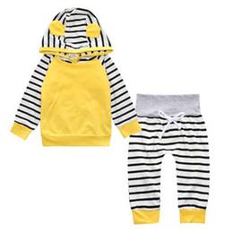Nouvelle Arrivée Bébé Filles Vêtements Set pour Garçons Vêtements Manches Longues Hoodies + Pantalon 2 Pcs. Ensembles de nouveau-né de vêtements de bébé ? partir de fabricateur