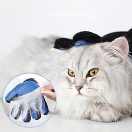 animale magico della spazzola Sconti Magic Cleaning Brush Guanto per Pet Dog Cat Massage Grooming Gloves Rimozione Deshedding Tools Silicone Hair Catcher
