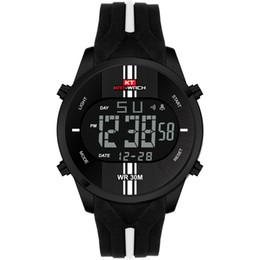 KAT-WACH Relogio Masculino Digital Sport Watch Reloj retroiluminado LED Big Face Diseño respetuoso del medio ambiente Correa de goma Reloj de pulsera Reloj desde fabricantes