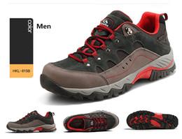 Argentina 2018 Clorts Hombres Senderismo Zapatillas de deporte de corte bajo Zapatos de senderismo transpirables Hombres Atléticos Zapatos al aire libre para hombres Hkl -815 Suministro