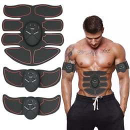 Muscle Toner Huit-pack Mobile-Gym ABS Smart Fitness EMS Fit Tonification Électrique Musculaire équipement Body Building Device Red Line Livraison Gratuite ? partir de fabricateur