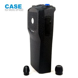 Wholesale Case For Walkie Talkie - Walkie Talkie Front Outer Case Housing Cover Shell for Motorola EP450 Two Way Radio With Knobs
