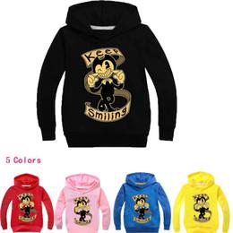 jungen kleinkind hoodie Rabatt 2-14Years Kinderkleidung 2018 Frühling Boris Bendy Kostüm Kleinkind Mädchen Jacke Jas Jongen Jungen Hoodies und Sweatshirts mit langen Ärmeln