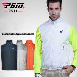 PGM High Quality Men Golf Jackets Windproof Vest Design Golf Coats Man  Sport Jackets All Season Professional Clothing от
