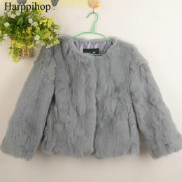 Wholesale Red Rabbit Fur Coat - Free Shipping Genuine Rabbit Fur Coat women full pelt rabbit fur winter natural jacket free custom plus size any color