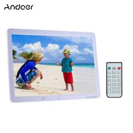 """Andoer 15"""" стена 1280 * 800 рамки фото Сид электронная цифровая поддерживает дистанционное управление с датчиком движения от Поставщики детские товары"""