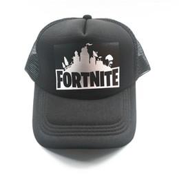 27dc101b504 New Fortnite New Hot Trucker Cap Hot Game Fortnite Fans Cool Mesh Caps  Summer Baseball Net Trucker Caps Hat For Men Women