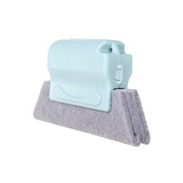 Wholesale household blinds - Small Hand-held Cleaning Brush with pp Material Handle for Door Groove Kutchen Window Groove Household Cleaner for Blind Side