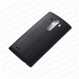 Porte nfc en Ligne-100pcs batterie couvercle arrière boitier porte couvercle arrière + NFC pour LG G4 H815 H810 H811 LS991 US991 VS986