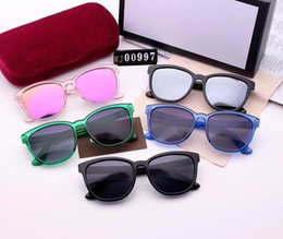 Wholesale italy car - Italy Luxury Brands Designer Sunglasses Men And Woman Driving Car Fashion Sun Glasses Men And Woman Sunglasses with Logo #MJ00997