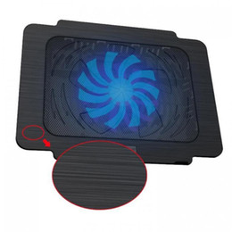 usb fan for tablet Coupons - Hot sell Cheap Tablet Notebook Laptop Cooling Pad One Usb Fans Air Cooled 14cm*14cm For Laptop Computer No Led Light