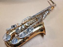 Canada Nouveau JUPITER JAS 669-667 Marque Instrument de Musique Alto Eb Accord Saxophone Or Laque Corps Argent Plaqué Clé Sax Avec Étui supplier eb silver Offre