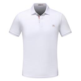 Mehrblumen online-2018 modedesigner casual männer polo t-shirt schlange blume stickerei männer polo shirt high street fashion polo shirt männer