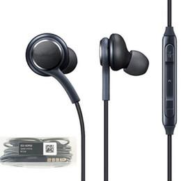 Per auricolari stereo S8 in-ear con controllo del volume del microfono Bassi bassi isolamento del telefono cellulare auricolari auricolari per Samsung galaxy S8 S9 da bassi per auricolari del telefono delle cellule fornitori