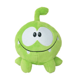 green day dolls Promo Codes - Lovely 7inch 20cm om nom frog plush toys cut the rope soft stuffed figure classic toys game doll for kids gift