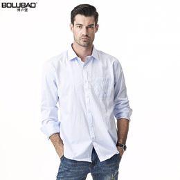Wholesale Tuxedo Champagne Color - Bolubao New Men Tuxedo Shirt Fashion Formal Solid Color Business Long Sleeve Mens Dress Shirts Slim Male Casual Shirt