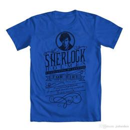 2018 New Fashion Brand Abbigliamento Tee Shirt Sherlock Holmes In Affitto T-Shirt da bambino O-Collo Streetwear Tees da maglietta sherlock fornitori