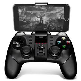 iPega 9077 Bluetooth Gamepad com Suporte 2.4G Sem Fio Receptor de Carga USB Compatível com Android IOS PC de