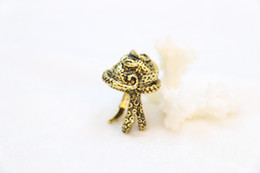 Wholesale ring elements - 2018 The latest elements Fashion octopus ring, animal ring of punk style, personality man ring wholesale free shipping