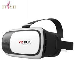 "Wholesale Glasses Virtual Games - ITSYH VR BOX2 Storm New Generation Kotaku Phone Version Virtual Reality Glasses rift 3d Games Movie for 4.7"" -6.0"" phone TW-412"