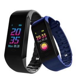 relógio de tela tft Desconto W6S Bluetooth Pulseira Inteligente Atividade Rastreador Monitor de Freqüência Cardíaca Dinâmica pressão arterial 0.96 polegadas Tela Colorida TFT relógio inteligente
