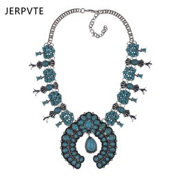 Collares de oro únicos para mujer. online-JERPVTE 2018 Buena Calidad Nuevo estilo de Moda de Plata de Oro Collar de Colgante de Collar de Borla Larga Única Joyería de La Declaración para Las Mujeres