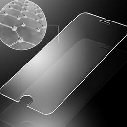 protettore dello schermo di iphone della scatola al minuto Sconti 2.5D 0,3 millimetri Premium vetro temperato protezione dello schermo per iPhone 7 temperato trasparente protettiva pellicola scatola al minuto
