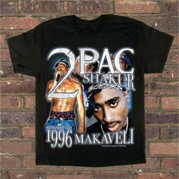 duck t shirts Coupons - 2PAC Tupac T Shirt Kanye Angel Anatomy Duck In Utero Top Tees Gangsta Rap Tupac Hip Hop Street Clothes Tee 2PAC T Shirts