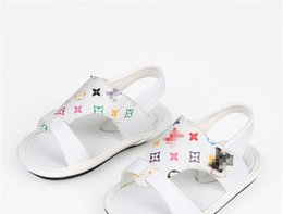 196b7785aca9d 2018 Summer Shoe Boy Sandals Popular Children Shoes Sneakers Magic Sticker  To Exposure Toe Non-slip Sandals Cool Colour Star Printing affordable  popular ...
