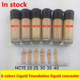DateLiquide Fondation Maquillage Fondation Maquillage STUDIO FIX FLUID Fondation Liquide 6 couleurs 35 ML NC15 NC20 NC25 NC30 NC35 NC40 livraison gratuite ? partir de fabricateur