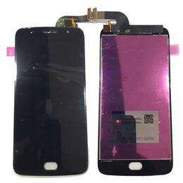 Canada NOUVEAU LCD Écran Tactile Digitizer Pour Motorola Moto G5s XT1793 XT1794 XT1792 Noir Blanc Or Avec Verre Trempé logistique DHL Offre