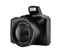 Micro zoom on-line-Câmera digital SLR Tela de Exibição de 3.5 Polegada 24MP Anti-Agitação Micro Câmera SLR 5x Zoom Óptico Digital HD câmera de vídeo lente grande-angular