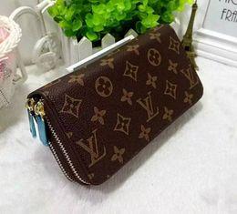 c8ec9671e1912 2018 sales men classic wallet luxury Double pull purse hand bag mens Card  package key packet wallets