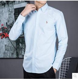 Wholesale yellow dress shirt men - Fashion Men 's 100% Cotton Business Leisure Pure Color Short Sleeve Shirt Men' s Boutique Short Sleeve Shirt