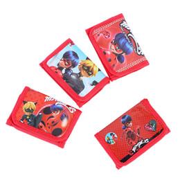 Bolsas de regalo de dinero online-Miraculous Ladybug Cat Mini Monedero Candy Money Bag Monedero Niños Niños Happy Birthday Gifts Supplies Decoración Favores de fiesta 1 2hj bb