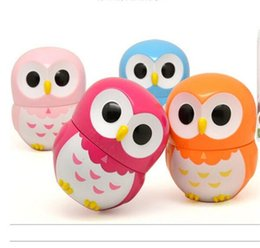 Wholesale hours minutes - Kwaii Cratoon Owl Timer 60 Minutes Mechanics Plastic Time Meter Kitchen Cooking Using Best Caretive Count Down Alarm Tool Hot Sale 6 66yy